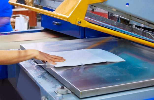 Sérigraphie impression sacs usine machine d'impression