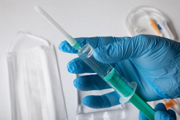 Seringue pour équipement médical