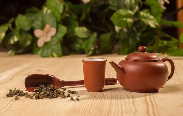 Service de cérémonie du thé