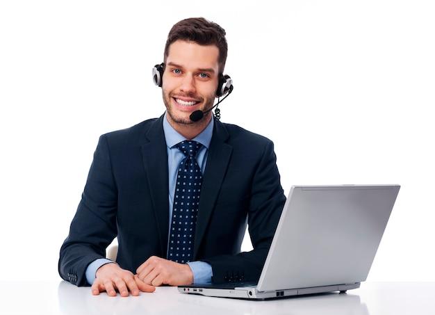 Service client entreprise