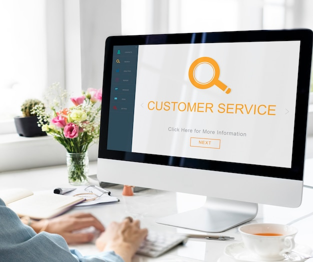 Service client helpdesk information découvrir le concept