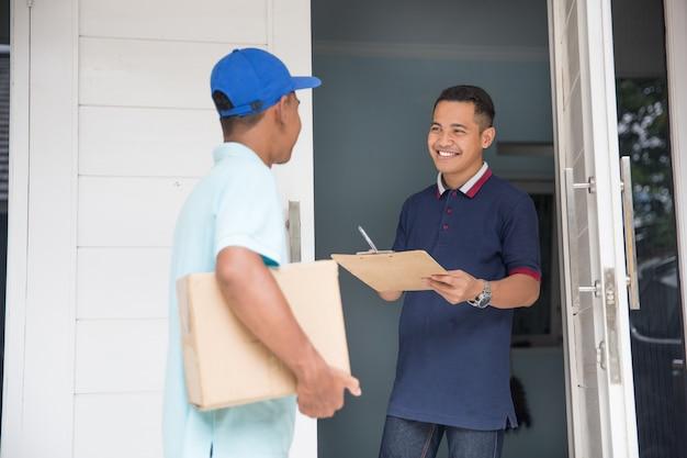 Service de livraison à domicile