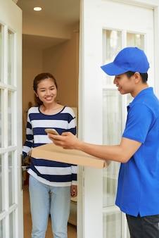 Service de livraison mobile