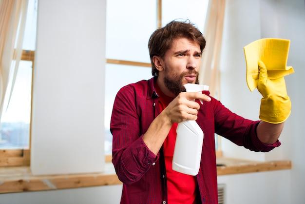 Service de nettoyage professionnel de la maison
