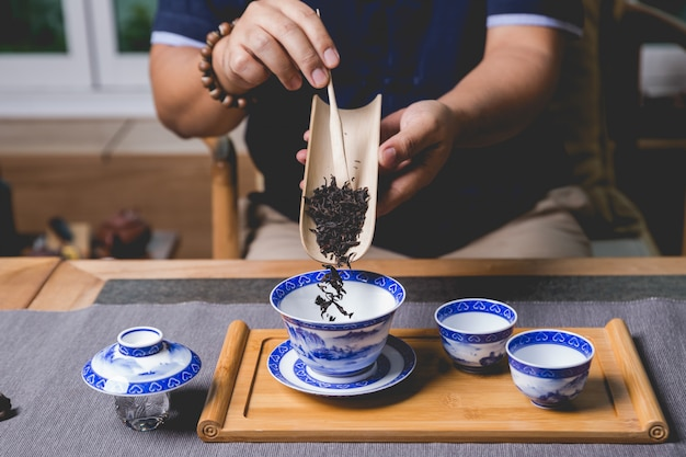 Service à thé chinois