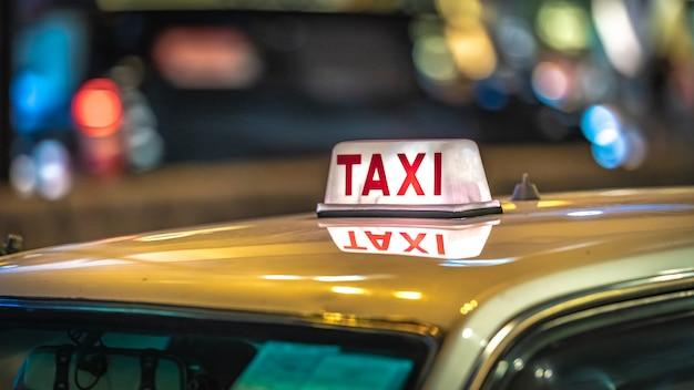 Service de transport en taxi