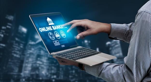 Services bancaires en ligne pour la technologie de l'argent numérique
