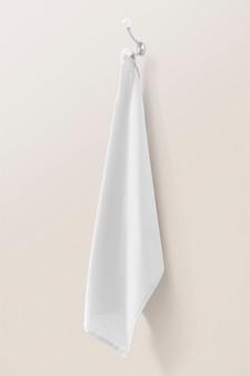 Serviette de bain blanche déco à la maison