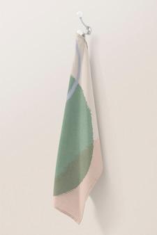 Serviette de bain pastel décor à la maison