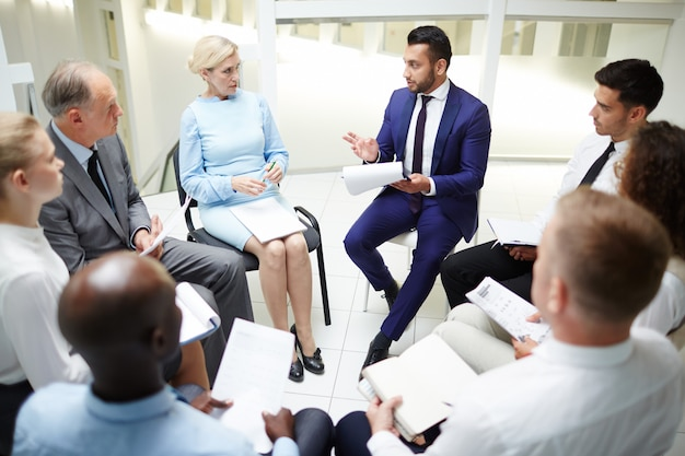 Session d'affaires