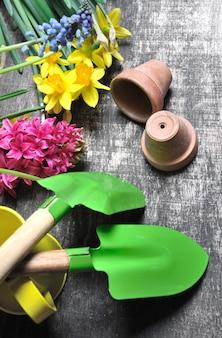 Set de jardinage pour le printemps