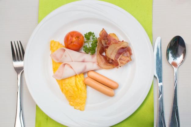 Set de petit déjeuner