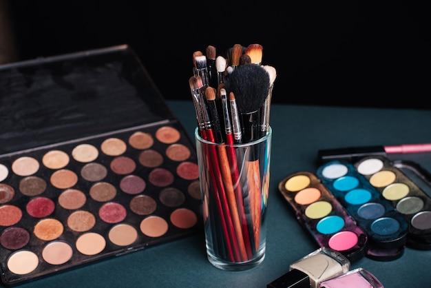 Set de pinceaux de maquillage professionnels