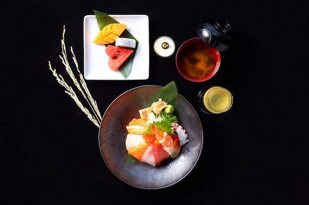 Set de recettes de chirashi don japonais