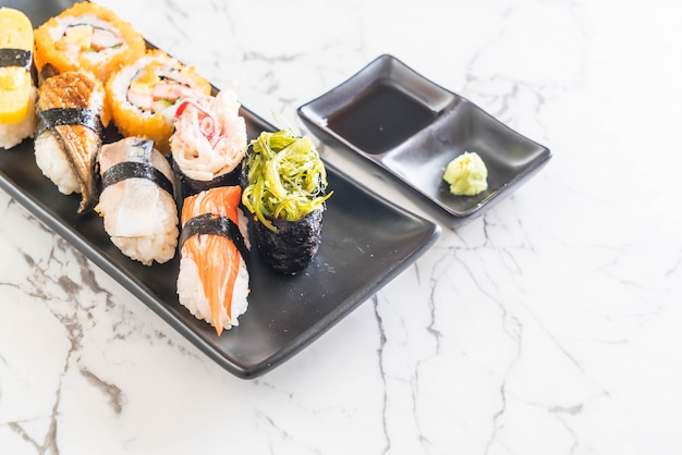 Set de sushis et makis