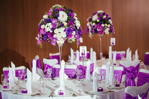 Set de table pour mariage