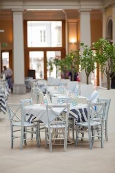 Set de table de restaurant italien