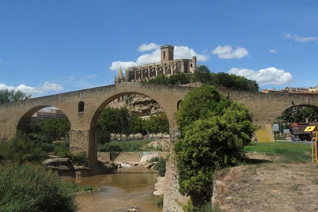 La seu cathédrale, manresa, province de barcelone, catalogne, espagne