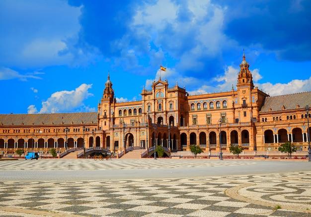Sevilla plaza de españa en andalousie
