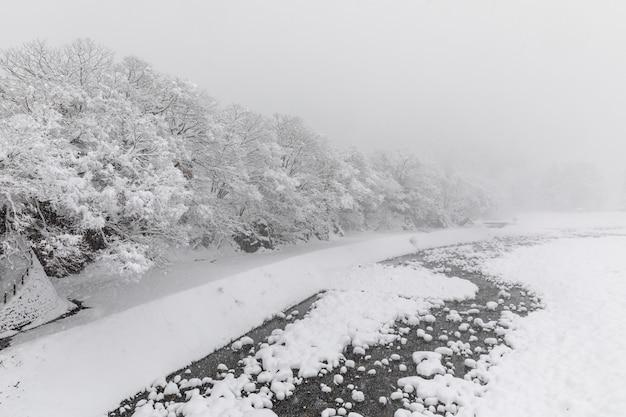 Shirakawa va la saison des neiges au japon