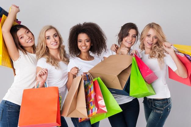 Le shopping est le meilleur remède pour les femmes