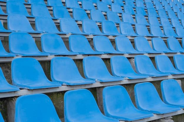 Sièges dans le stade
