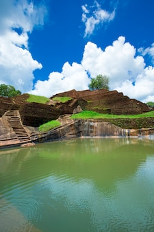 Sigiriya lion rock fortress au sri lanka