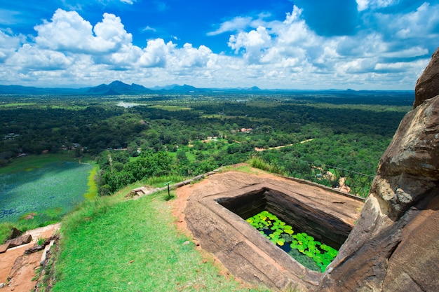Sigiriya lion rock fortress