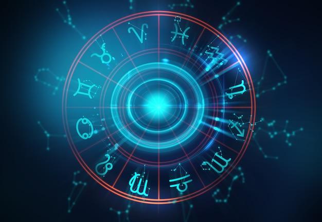 Signe d'astrologie et d'alchimie
