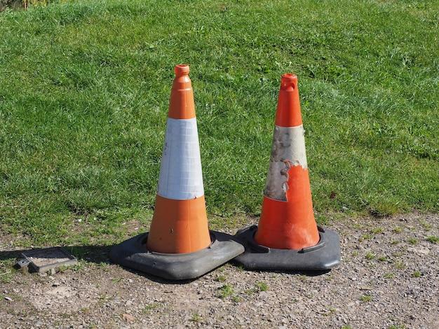 Signe de cône de circulation