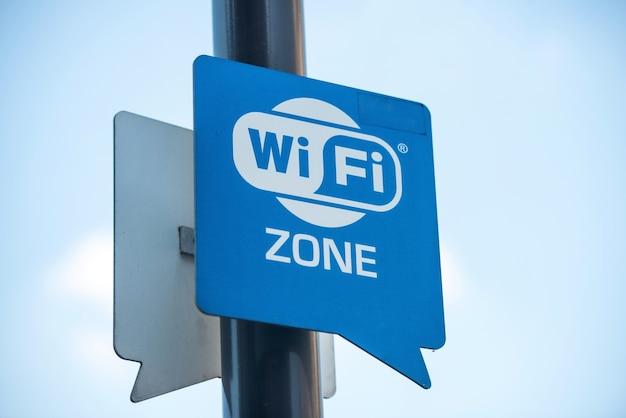 Signe internet sans fil