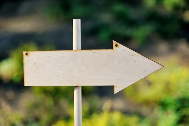 Signe d'invité en bois de mariage