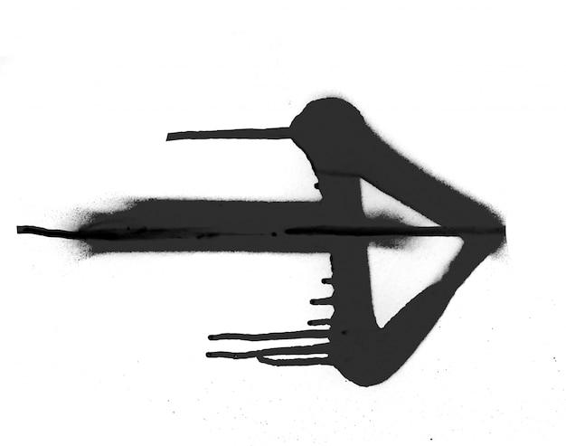 Signe texture main bannière floc dessinée