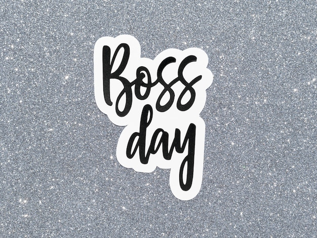 Signer avec la célébration de la journée du patron
