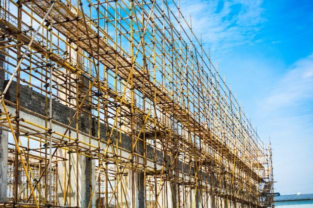 Silhouette de construction