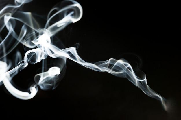 Silhouette fantastique de fumée