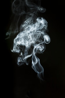 Silhouette grande fumée