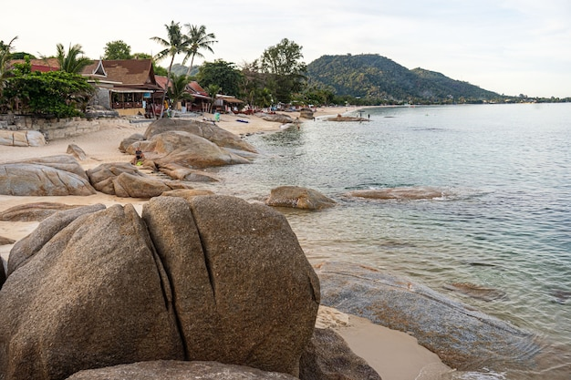 Silver beach à koh samui en thaïlande
