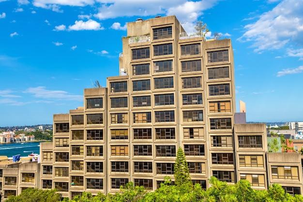 Sirius, un complexe d'appartements de style brutaliste à sydney
