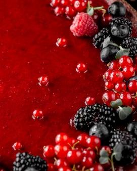 Sirop de fruits des baies sauvages