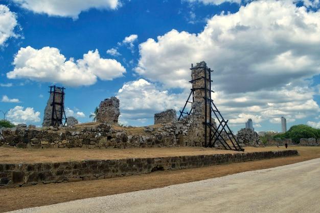 Site archéologique de l'ancienne cathédrale de panama