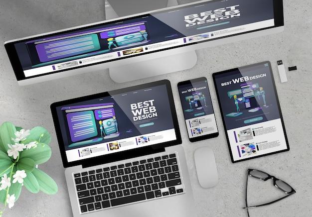Site de design réactif