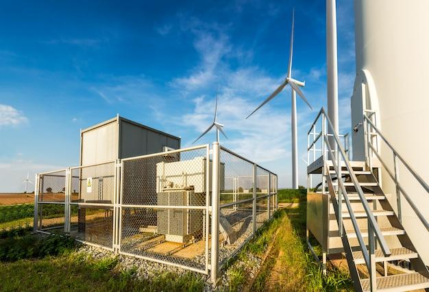 Site d'éoliennes