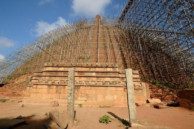 Site historique d'anuradhapura et destination de voyage, sri lanka