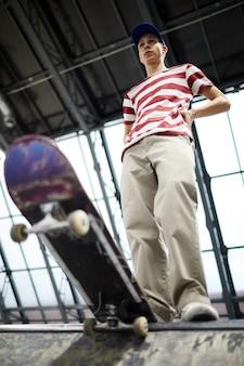 Skateboarder chez les adolescentes