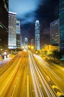 Skyline de l'amirauté de hong kong