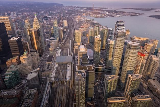 Skyline architectura et bâtiments à toronto canada