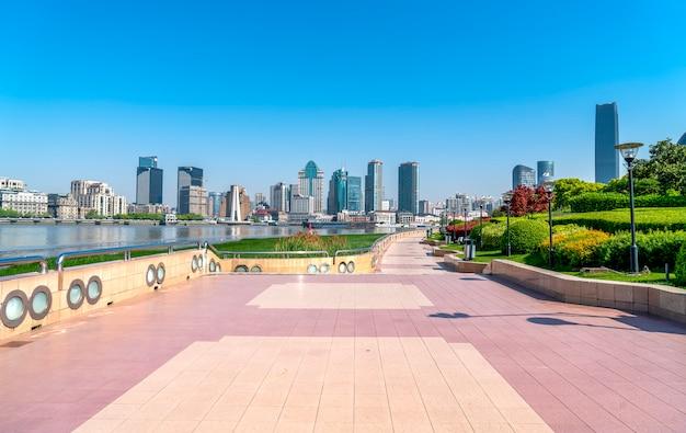 Skyline du paysage architectural de shanghai