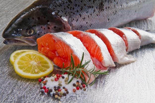 Slicefield au saumon frais