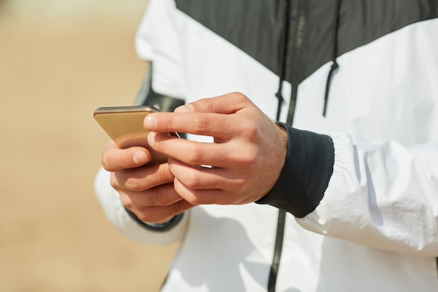 Smartphone d'athlète